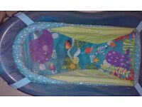 Boys blue baby bath - good condition