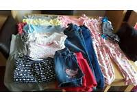 Girls aged 5-6 years clothes bundle