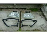 Ford focus front dog lamps £10