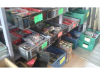 fishing tackle inc rods , reels , nets , end tackle etc etc small items from £1 in faversham