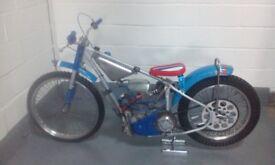 Jawa 2 valve speedway bike