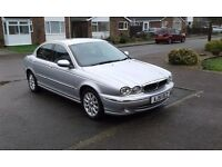 Jaguar x type 2.5 v6 what a car to drive