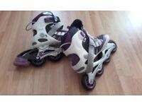 Size 4 inline skates