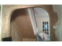 Plasterering and decorating service available