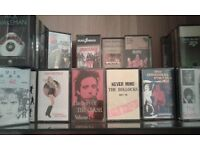 music Tapes / clock for sale