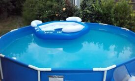 12ft swimming pool with accessories