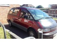 8 SEATER TOYOTA PREVIA - SPARES OR REPAIRS