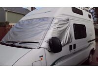 Taylormade exterior silverscreen to fit boxer/ducato 2002