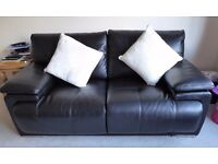 Endurance Jewell 2-Seater Leather Sofas X 2