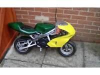 2x mini motos