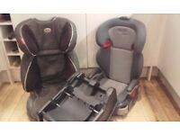Britax and Graco car seats, Mama and Papas car seat base - in good working order