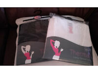 Two Brand New Womens Thermal Vests