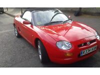 MGF Convertible - 1.8 VVC 2dr, 12 month MOT. Immaculate throughout