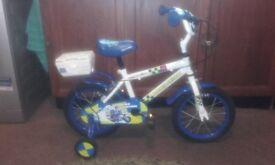 Childs Apollo police patrol 14 inch wheel bike