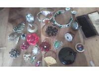 Antique/vintage costume jewellery