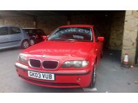 BMW 318I MOT MAY 2017 PX WELCOME