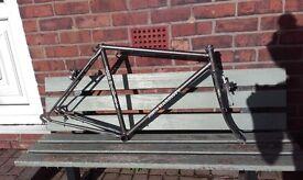 Touring bike frame small / medium John Hardisty reynolds 531 PG CroMo 501 531st