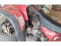 honda 250 4x4 quad spare and repair