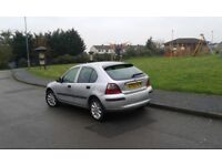1.4 Rover 25 Petrol SILVER (2004) Manual 5 Door Hatchback Great for Commuters