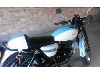 Cafe Sinnis retro style 125cc bike - amazing retro bike - selling due to nervous young son