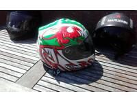 Welsh bikers helmet XL