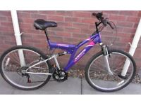 Ladies Universal Venus Dual Suspension Mountain Bike Bicycle