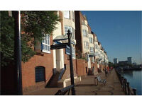 Canada Water SE16. Large & Modern 4 Bed (no reception room) Duplex Furnished Flat with Dock Views