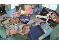Records vinyl LPs collection.