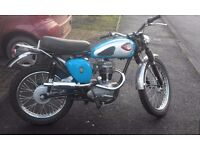 bsa c15 greenlaner. 1962. very nice bike