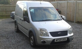 Ford Transit Connect High Top / Roof Crew Combi Van 5 Seats Silver 1.8 TDCi Trend