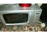 Siilver microwave good con