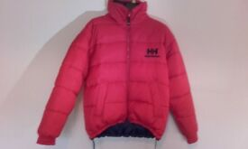 Helly Hansen Puffa Jacket down filled reversible mens large 42/44