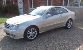 Mercedes CLK 200 CDi Avantgarde Automatic 55 Plate For Sale