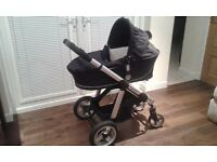 iCandy Apple 3 in 1 Travel System - Carry Cot, Buggy & Car Sear