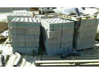 "Thermo lights concrete blocks NEW. 6"" wide Iv got 14 packs 60 per pack."