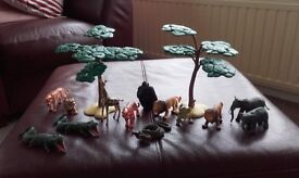 Toy Dinosaurs, Jungle Figures and ELC Trees