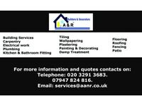 Painting, Decorating & Building Services offered in London and surrounding areas.