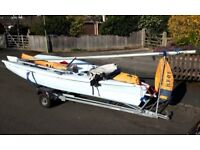 Used RS VISION sailing dinghy