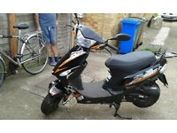 50cc moped motorcycle -make is Longjia