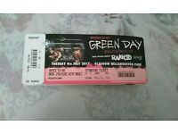 X2 Tickets Green Day Bellahouston Park