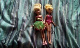 Disney Tinkerbell sister dolls