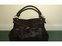 Lloyd Baker Black Leather Handbag Brand New
