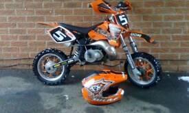 KTM PRO 50cc top spec motocross 2006