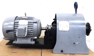 US ELECTRIC MOTOR, 7-1/2HP, 254U FRAME, 9-1243-00-16, FALK REDUCER, 53-4EZ2-06A6