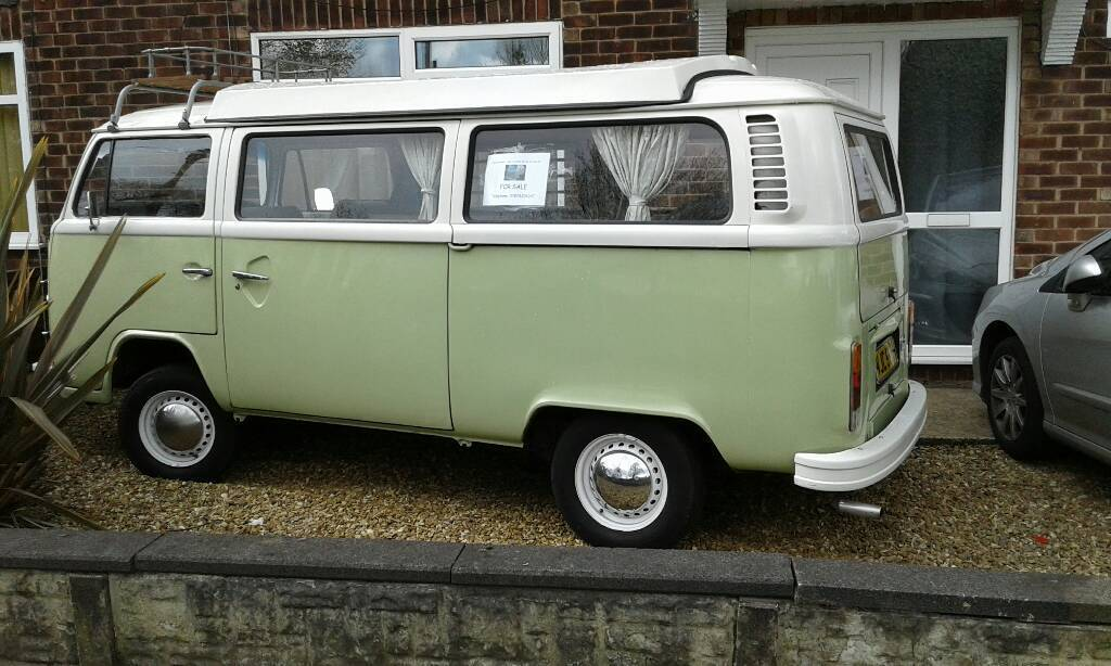 vw t2 bay window camper van with drive away awning in radcliffe manchester gumtree. Black Bedroom Furniture Sets. Home Design Ideas