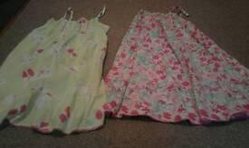 GIRLS SUMMER DRESSES.