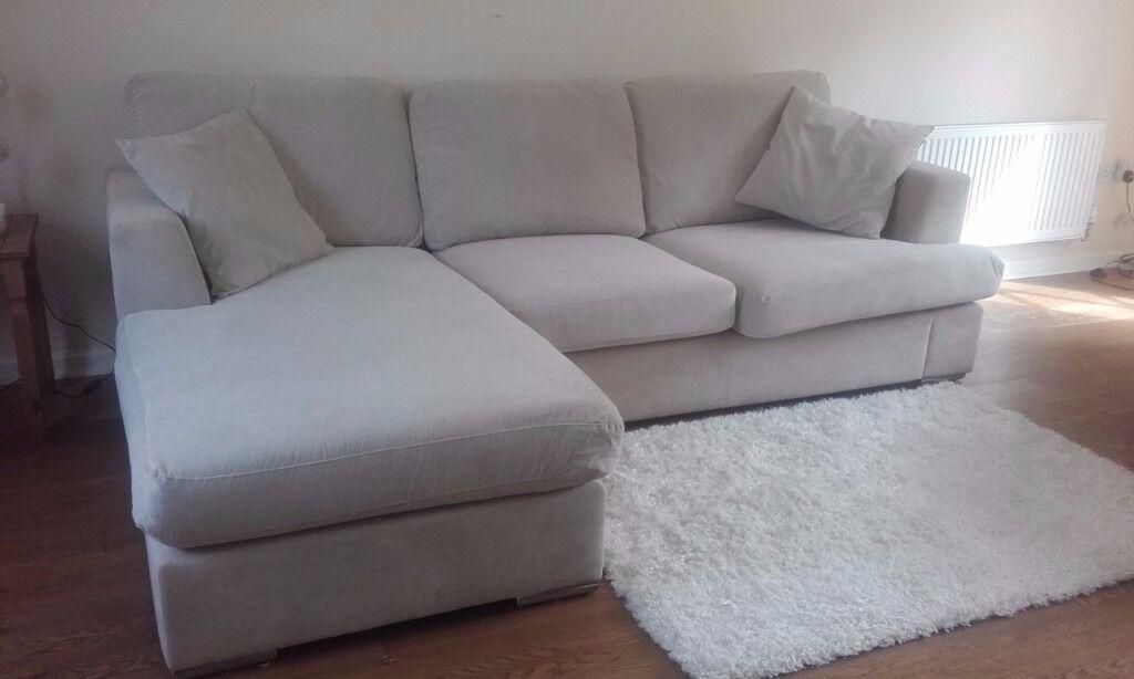 Dfs Freya Cream 4 Seater Corner Sofa Cuddler Chair