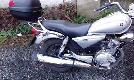 Yamaha YBR custom 124cc