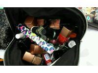 Bag of nail varnishes