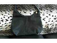 Black dkny shoulder bag handbag